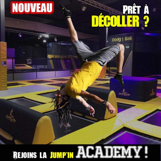 Jump'in Academy popup carré